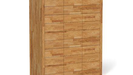 Massivholz Kleiderschrank aus eiche aus buche Vinci 3
