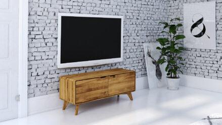 Eiche TV-Schrank 120x40 cm Greg