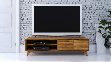 TV-Schrank Eiche 180x40 Greg