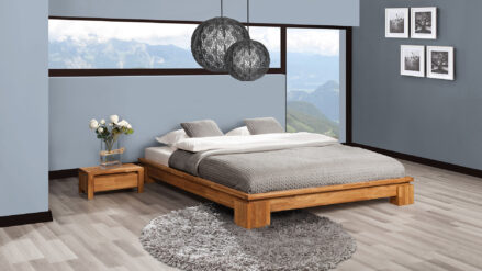Massivholzbett Vinci 1003 holzbett aus eiche