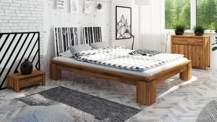 Massivholzbett Vinci 1004