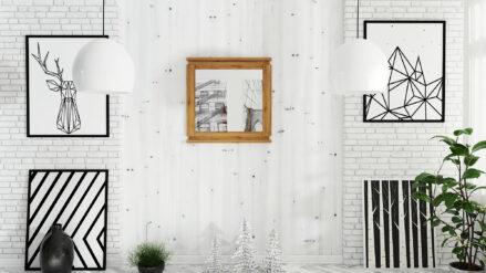 Massivholz Spiegel Vinci 1047
