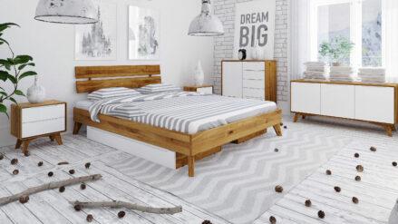 Bettkasten Schublade für HolzbettBianco