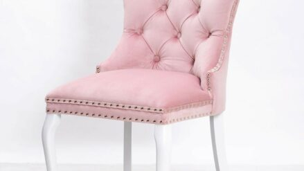 Polsterstuhl Chesterfield Madame Glamour rosa