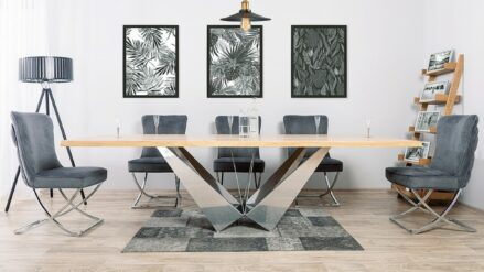 Polsterstuhl Chesterfield Scarlett