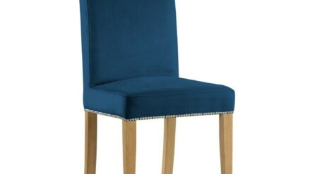 Polsterstuhl Willford blau
