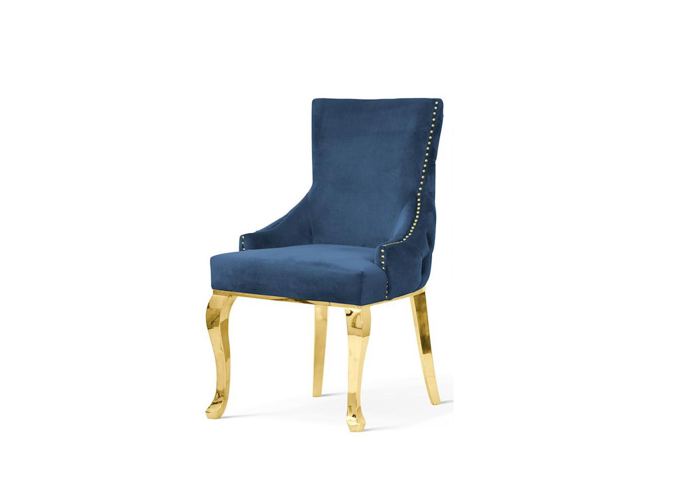 Polsterstuhl Chesterfield Edward Glamour → Onlineshop Sofa & Bett