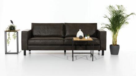 Sofa Couch 3-Sitzer kunstleder -Amsterdam