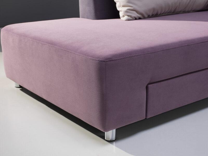 designer Ecksofa mit Bettfunktion Split detal