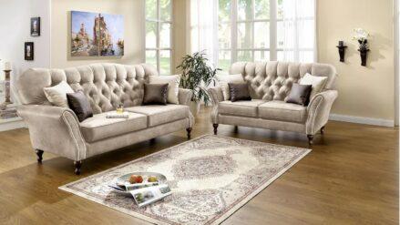 Chesterfield Sofa 2-Sitzer 3-sitzer Elizabeth