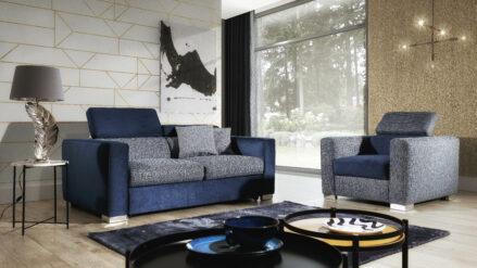 3-Sitzer Sofa mit Bettfunktion >>Vento