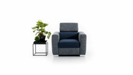 Sessel mit Hocker Vento