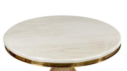 Round Esstisch Glamour Gold detal
